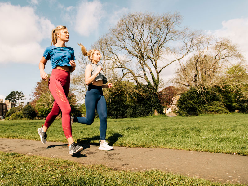 Keeping fit in Redland