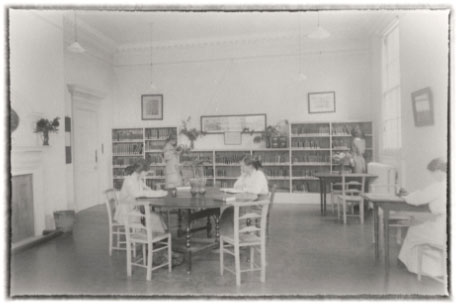 Historic photo of school life at Redland Court