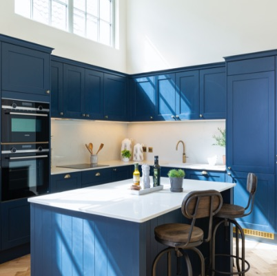 A beatiful kitchen in The Old School at Redland Court