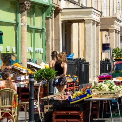 Independent shops and bars in Redland